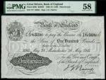 Bank of England, John Gordon Nairne (1902-1918), 100, Manchester, 28 May 1914, serial number 7/Y 163