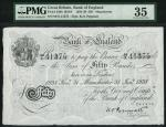 Bank of England, Kenneth Oswald Peppiatt (1934-1949), 」50, Manchester 31 January 1938, serial number