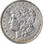 1894 Morgan Silver Dollar. EF-40 (PCGS).
