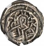 JOHN VIII, 1423-1448. AR Half Stavraton (3.35 gms), Constantinople Mint. NGC Ch EF 45*, Strike: 5/5