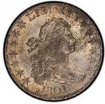 1801 Draped Bust Half Dollar. Overton-101. Rarity-3. MS-63 (PCGS).PCGS Population: 1, none finer.