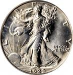 1929-D Walking Liberty Half Dollar. MS-64 (PCGS). OGH.