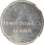 Undated (1933) Pedley-Ryan Dollar. Type I. HK-822. Rarity-7. Silver. MS-63 (NGC).