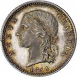COLOMBIA.1849 pattern 4 Pesos. Popayán mint. Restrepo P72var. Silver. SP-66 (PCGS).
