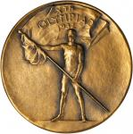 United States. 1932 Olympic Games, Los Angeles, Sample Participation Medal. Bronze. 69.26 mm. cf. Ga