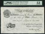Bank of England, Kenneth Oswald Peppiatt (1934-1949), 」5, London 15 June 1938, serial number B/236 0