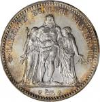 FRANCE. 5 Franc, 1873-A. PCGS MS-66+ Secure Holder.