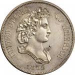 1859 Pattern Half Dollar. Judd-239, Pollock-295. Rarity-4. Silver. Reeded Edge. Proof. AU Details--C