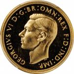 GREAT BRITAIN. Sovereign, 1937. London Mint. PCGS PROOF-64 Gold Shield.