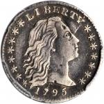 1795 Flowing Hair Half Dime. LM-8. Rarity-3. VF Details--Damage (PCGS).