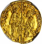 ITALY. Venice. Ducat, ND. Francesco Foscari (1423-57). NGC MS-64.