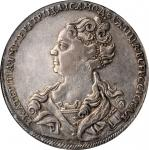 RUSSIA. Ruble, 1726. Red (Moscow) Mint. Catherine I. NGC EF-45.