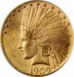 1909-D Indian Eagle. MS-63 (PCGS).