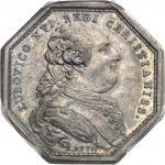 USA Louis XVI (1774-1792). Jeton, don du clergé pour la flotte d'aide aux indépendantistes américain