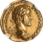 ANTONINUS PIUS, A.D. 138-161. AV Aureus (7.29 gms), Rome Mint, ca. A.D. 152-153. NGC AU, Strike: 5/5