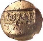 CELTIC BRITAIN. Atrebates & Regni. Verica. AV Stater (5.26 gms), Cavella Mint. NGC Ch EF, Strike: 3/