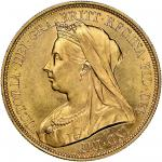 Victoria (1837-1901), Five-Pounds, 1893 (MCE -; Spink 3872), some faint marks, otherwise lustrous an