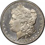1880-CC Morgan Silver Dollar. MS-65 DMPL (PCGS). CAC. OGH.