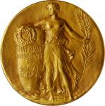 Undated (1964) National Institute of Social Sciences Medal. Gold. 50 mm. 58.63 grams. 10 karat. By L