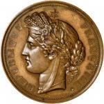 1887年安南-法属印度河内博览会铜章。巴黎铸币厂。 ANNAM. Annam - France - French Indo-China. Hanoi Exposition Bronze Award
