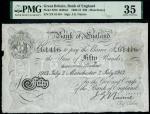 Bank of England, John Gordon Nairne (1902-1918), 50, Manchester, 2 July 1913, serial number 2/X 6141