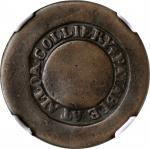SCOTLAND. Clackmannanshire. Alloa. Alloa Colliery 1/2 Penny Token, ND (1800-10). NGC POOR-1 Brown; C