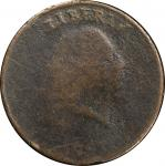 1793 Flowing Hair Cent. Chain Reverse. S-4. Rarity-3. AMERICA, With Periods. Fair-2 (PCGS). CAC.