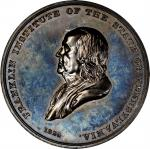 1852 Franklin Institute Award Medal. Silver. 50.9 mm. 58.8 grams. Julian AM-17, Harkness Pa-45, Gree