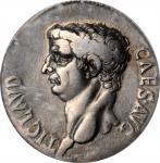 CLAUDIUS, A.D. 41-54. AR Cistophorus, Ephesus Mint, ca. A.D. 41-42. ICG VF 30.