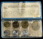 1980年中华人民共和国流通硬币精制套装 近未流通