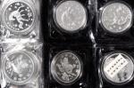 1997年麒麟纪念银币1盎司一组10枚 完未流通