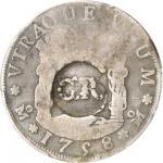 JAMAICA. 3 Shillings 4 Pence, ND (1758). George II (1727-60). PCGS GOOD-6 Secure Holder.