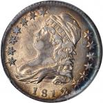 1812/1 Capped Bust Half Dollar. O-102. Rarity-2. Small 8. AU-50 (PCGS).
