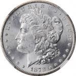1878-CC Morgan Silver Dollar. MS-65 (NGC).