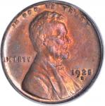 1925-D Lincoln Cent. MS-64 RB (PCGS).
