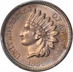 1859 Indian Cent. MS-64 (PCGS).