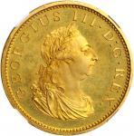 IRELAND. Gilt Penny, 1805. Soho (Birmingham) Mint. George III. NGC PROOF-66 Cameo.