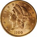 1900 Liberty Head Double Eagle. MS-63 (PCGS).