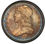 1832 Capped Bust Quarter. Browning-2. Rarity-2. Mint State-65 (PCGS).PCGS Population: 3, none finer.