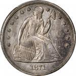 1871-CC自由座银币 PCGS MS 61