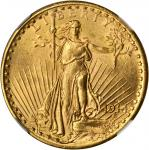 1914-S Saint-Gaudens Double Eagle. MS-63 (NGC).