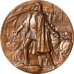 1892-1893 Worlds Columbian Exposition Award Medal. Bronze. 76.3 mm. By Augustus Saint-Gaudens and Ch