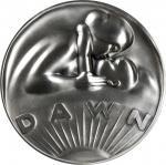 1978 Dawn to Dusk. Silver. 73 mm. 235.1 grams. 999 fine. By Moissaye Marans. Alexander-SOM 98. Edge