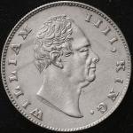 INDIA British India イギリス领インド Rupee 1835 -EF