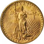 1910-D Saint-Gaudens Double Eagle. MS-64 (NGC).