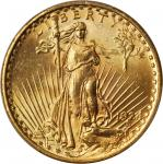 1924 Saint-Gaudens Double Eagle. MS-63 (PCGS).