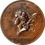 1781 (1782) Libertas Americana Medal. Original. Bronze. By Augustin Dupre. Betts-615. MS-62 BN (NGC)