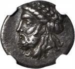 PAPHLAGONIA. Cromna. AR Drachm (3.34 gms), ca. 4th Century B.C.