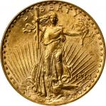 1913-S圣高登双鹰金币 PCGS MS 62 1913-S Saint-Gaudens Double Eagle
