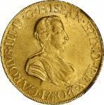 MEXICO. 8 Escudos, 1760-Mo MM. Mexico City Mint. Charles III. NGC AU-55.